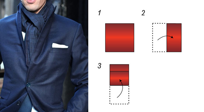 Flat Pocket Square