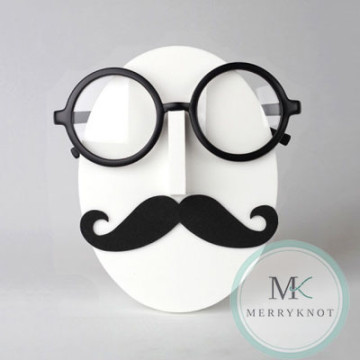 Vincent Mustache Eyeglass Holder image