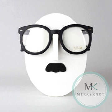 Chaplin Mustache Eyeglass Holder image