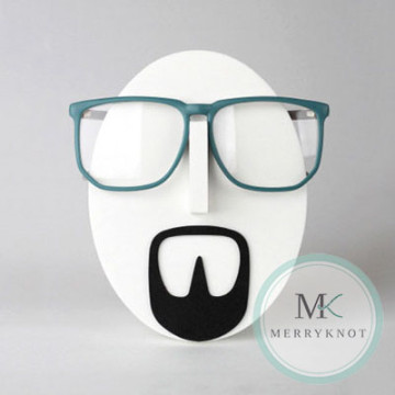 Jeff Mustache Eyeglass Holder image