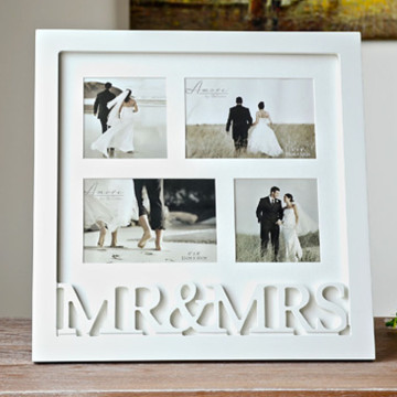Mr and Mrs Photo frame image