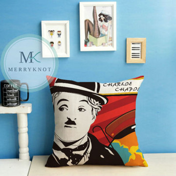 Charlie Chaplin Cushion Cover image