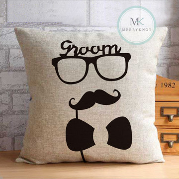 Groom Cushion Cover image