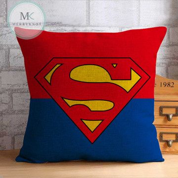 Superman logo Cushion Cover image