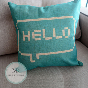 Hello Cushion Cover image