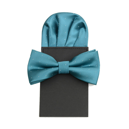 f4a6fe6d9ec38 Patterned Bow Tie & Puff Fold Pocket Square set