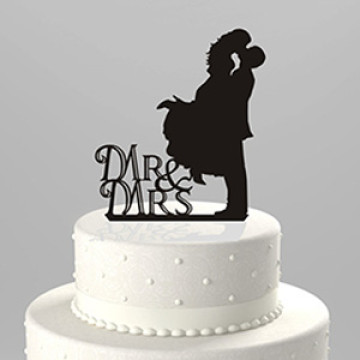 Wedding Mr & Mrs Acrylic Cake topper image