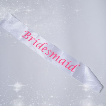 Bridesmaid Sash image