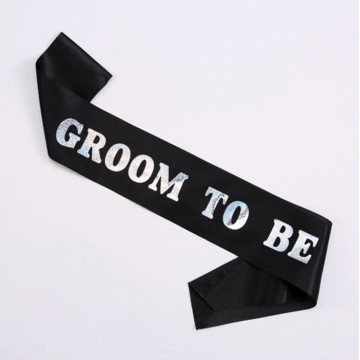 Groom to Be Sash image