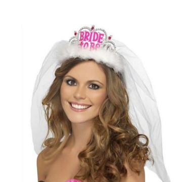 Bride to be Tiara White image
