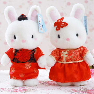 Traditional Rabbit plush Wedding Series image