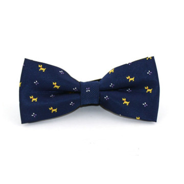 Children Dog Print Bow Tie image