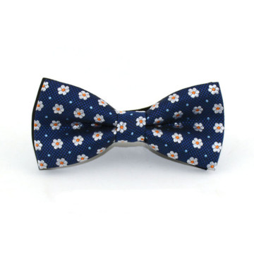 Children Flower Print Bow Tie image