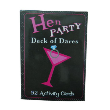 Hen Party Deck of Dares card image