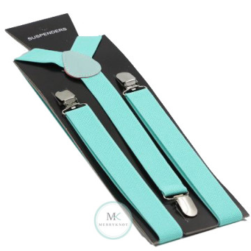 Tiffany Blue Suspenders image