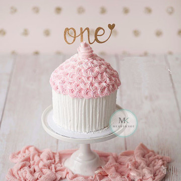 One cake topper image