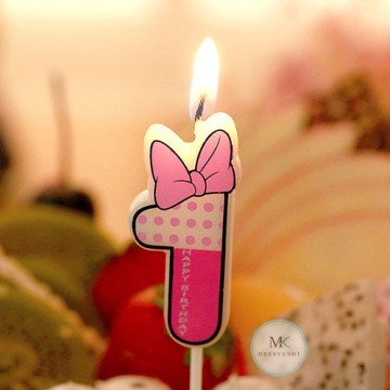 Number Candle [Daisy Duck] image