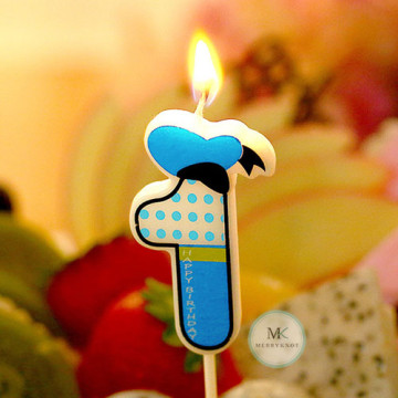 Number Candle [Donald Duck] image