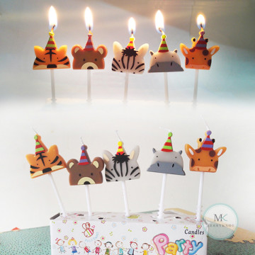 Zoo Party candle image