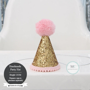 Glitter Party Hat [Pink] image