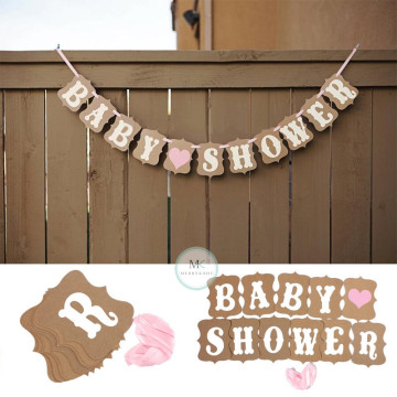 Baby Shower Banner [Pink] image