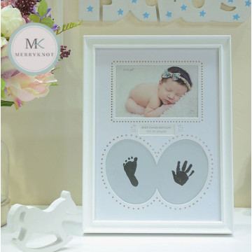 Baby Foot & Handprint Photo frame image