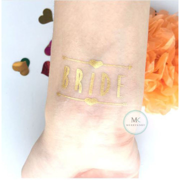 Bride Tattoo Sticker image