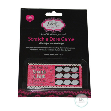 Dare Scratch Card Game image