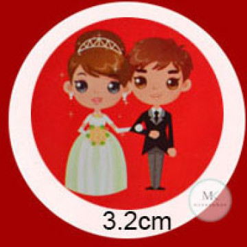 Design A08 Wedding Stickers image