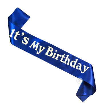 It's my Birthday Sash [Blue] image