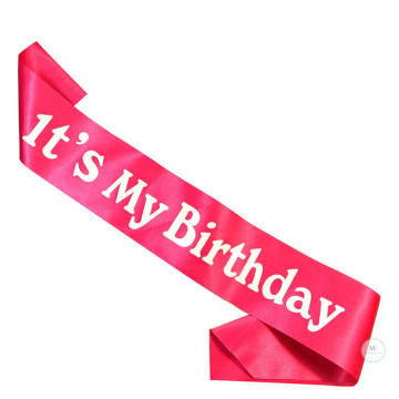 It's my Birthday Sash [Pink] image