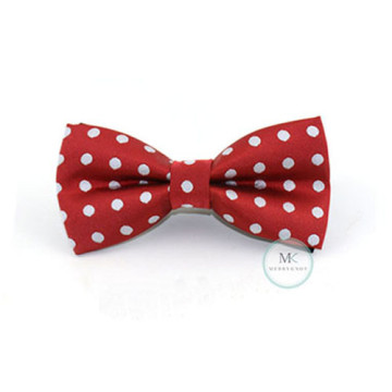 Children Red/White Polka Dot Bow Tie image