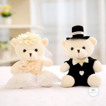 Champagne Wedding Bear image