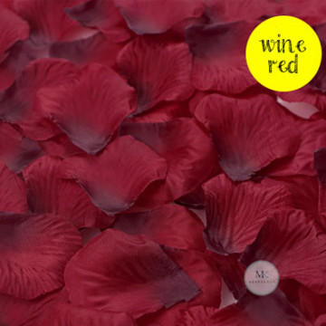 Rose Flower Petals [Wine Red] image