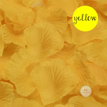 Rose Flower Petals [Yellow] image