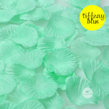 Rose Flower Petals [Tiffany Blue] image