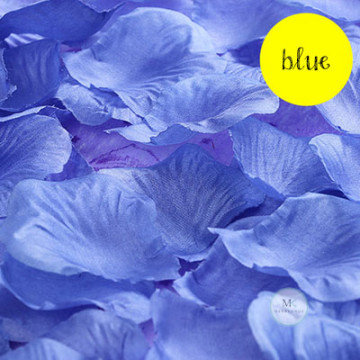 Rose Flower Petals [Blue] image