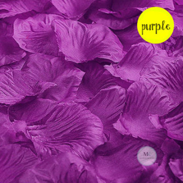 Rose Flower Petals [Purple] image