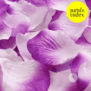 Rose Flower Petals [Purple Ombre] image