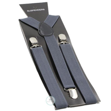 Charcoal Grey Suspenders image