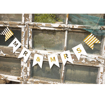Mr and Mrs Wedding Banner image