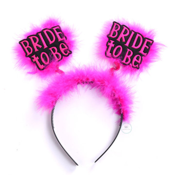 Bride to be headband image