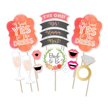 Bride to be 14PCS set Photobooth Prop image