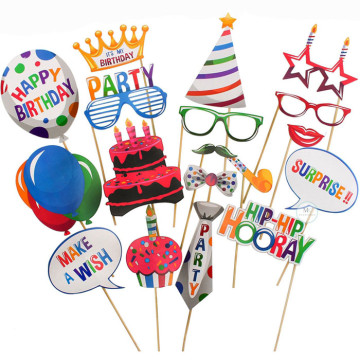 Its My Birthday Party 18PCS Set Photobooth Prop image
