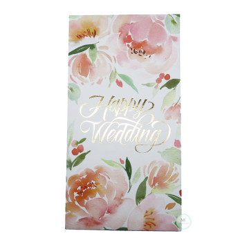 Floral Happy Wedding image