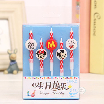 Mickey Minnie candle image