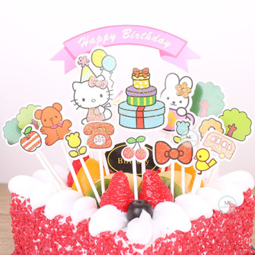 Hello Kitty Cake topper set image