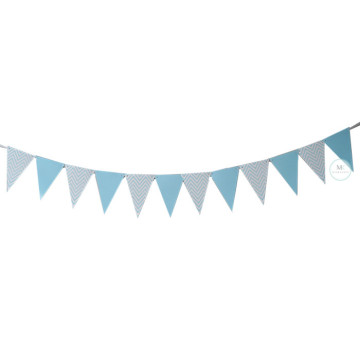 Blue Chevron Party Flag Banner image