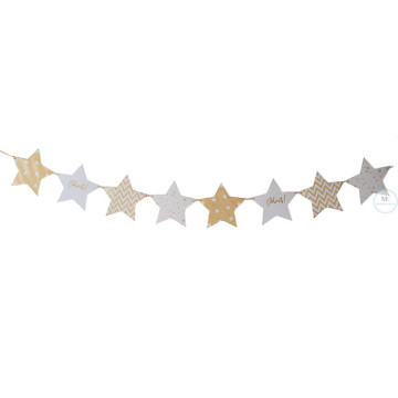 Celebrate Gold Star Banner image