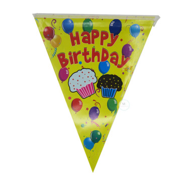 Happy Birthday Cupcake Flag Banner image